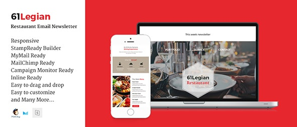 61 Legian Restaurant Email Template - Email Templates Marketing