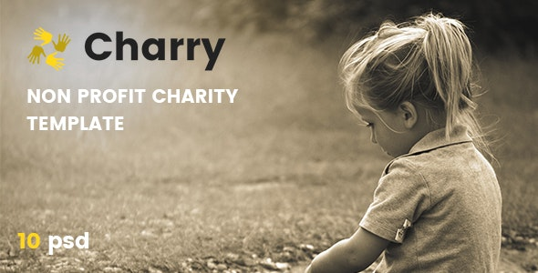 Charry - Non Profit Charity Template - Charity Nonprofit