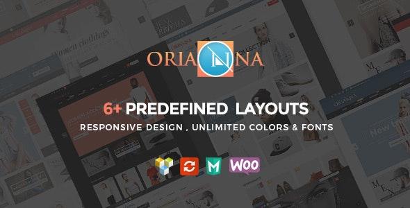 Orianna - Responsive WooCommerce Fashion Theme - WooCommerce eCommerce