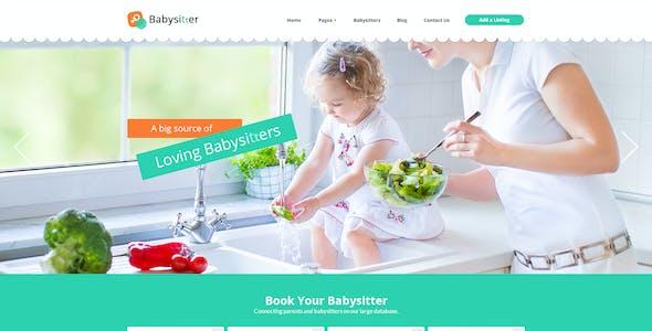Babysitter - Directory Portal PSD Template