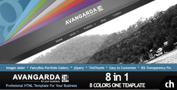 Avangarda - 8 in 1 Profesional Business-Portfolio - Portfolio Creative