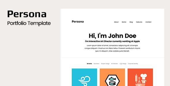 Persona - Portfolio HTML Template