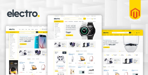 Electro Responsive Magento 2 Theme | RTL supported - Magento eCommerce