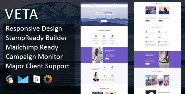 Veta - Multipurpose Responsive Email Template - Email Templates Marketing