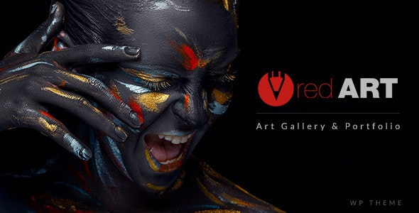 Red Art | Artist Portfolio WordPress Theme - Art Creative