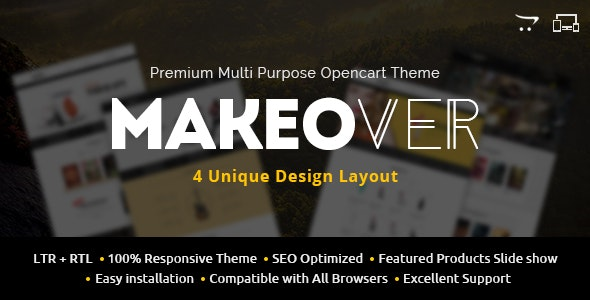 Makeover - Multipurpose OpenCart Theme - Shopping OpenCart