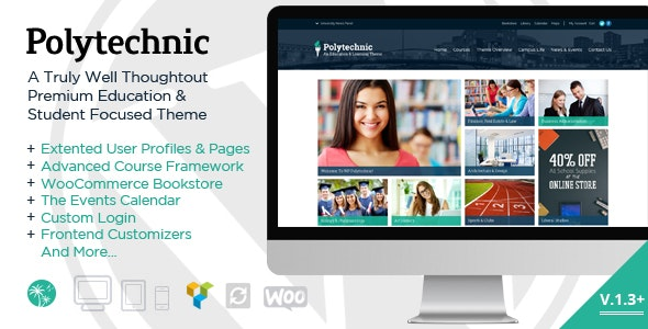 Polytechnic | Powerful Education, Courses & Events - Education WordPress
