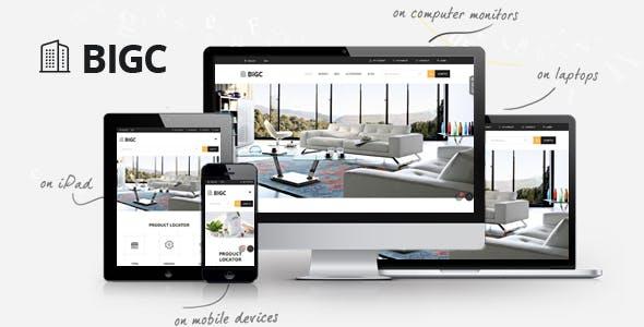 BigC - Elegant eCommerce Multipurpose PrestaShop Theme
