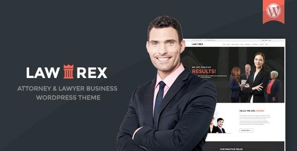 Lawrex - Attorney & Lawyer Business WordPress Theme - Business Corporate