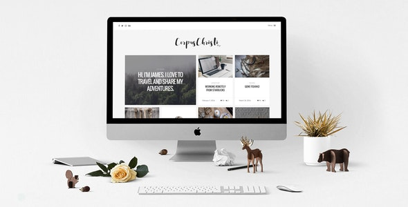 CorpusChristi – A Responsive HTML5 Blog Template - Experimental Creative