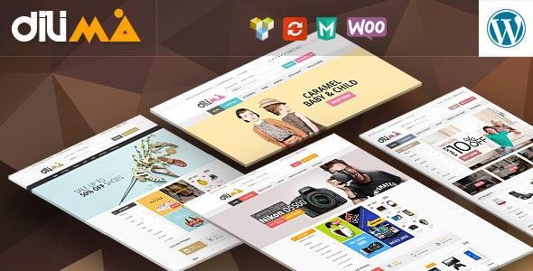 Dilima - Mega Store Responsive WooComerce Theme - WooCommerce eCommerce