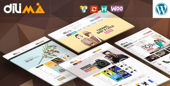 Dilima - Mega Store Responsive WooComerce Theme