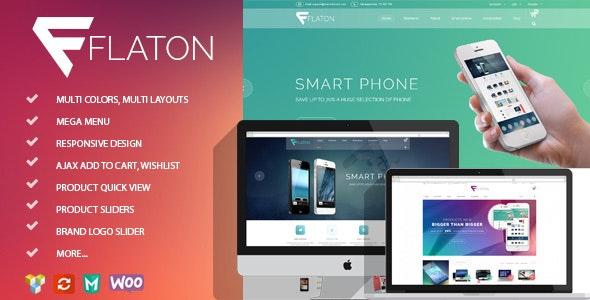 Flaton - WooCommerce Responsive Digital Theme - WooCommerce eCommerce