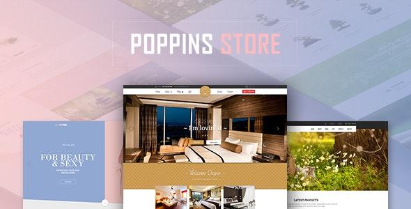 Leo Poppins Ressponsive Prestashop Theme - PrestaShop eCommerce