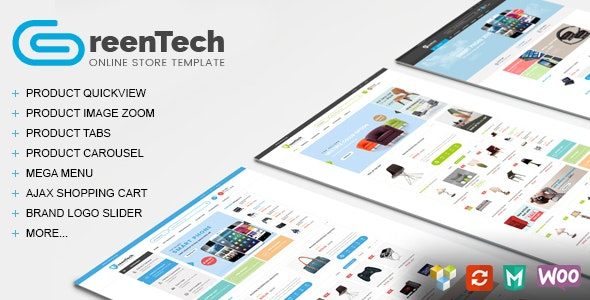 GreenTech - Shopping Responsive WooCommerce Theme - WooCommerce eCommerce