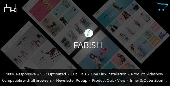 Fab!sh - Responsive Opencart Theme - Fashion OpenCart
