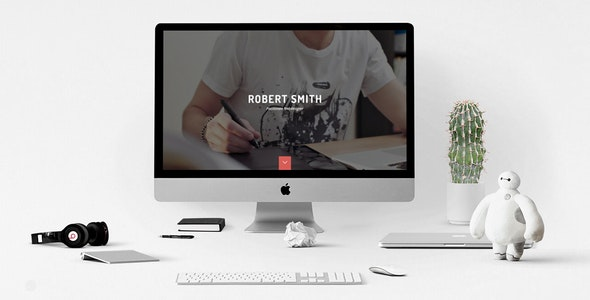Robert Smith - Responsive Retina Resume HTML5 CV - Resume / CV Specialty Pages