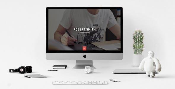 Robert Smith - Responsive Retina Resume HTML5 CV