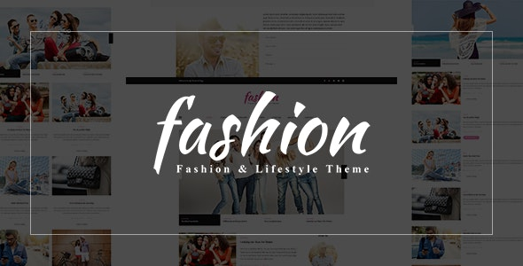 Fashion Blog - PSD Template - Fashion Retail