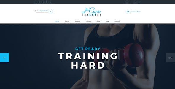 Gym Training - PSD Template