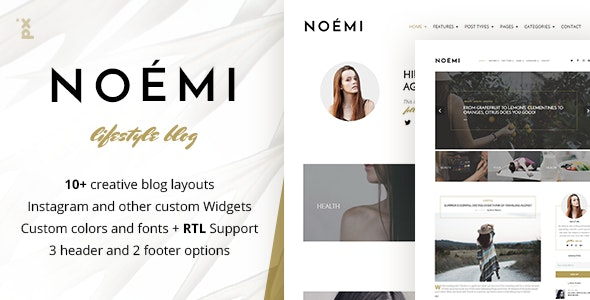 Noemi - Lifestyle & Fashion Blog - Personal Blog / Magazine