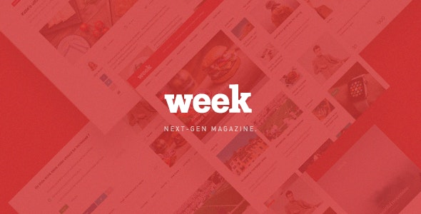 The Week - Magazine PSD Template - Miscellaneous PSD Templates