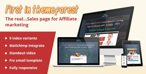 IMSolutions Sales page for affiliate marketing - Marketing Corporate