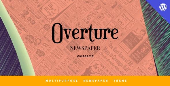 Overture - WordPress Magazine News Theme - Blog / Magazine WordPress