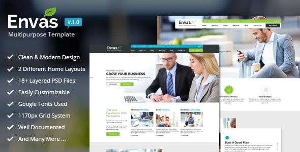 Envas - Multipurpose Business  - Business Corporate