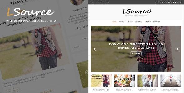 LSource - Responsive Blog WordPress Theme - Blog / Magazine WordPress
