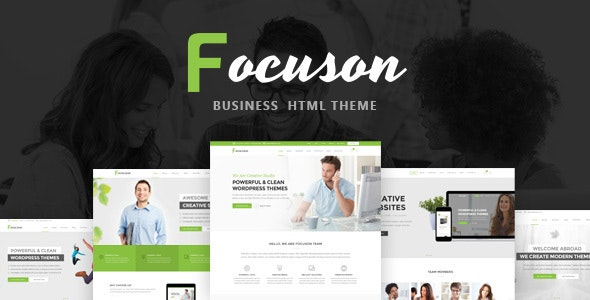 Focuson - Business HTML Theme - Business Corporate