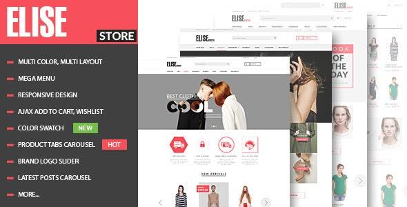 Elise - Fashion WooCommerce WordPress Theme - WooCommerce eCommerce