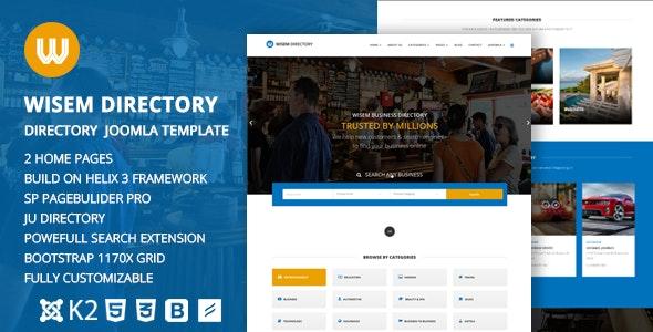 Wisem – Responsive Directory template for Joomla - Miscellaneous Joomla