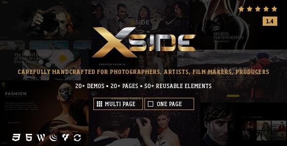 XSide - Responsive Photography Theme - Photography Creative