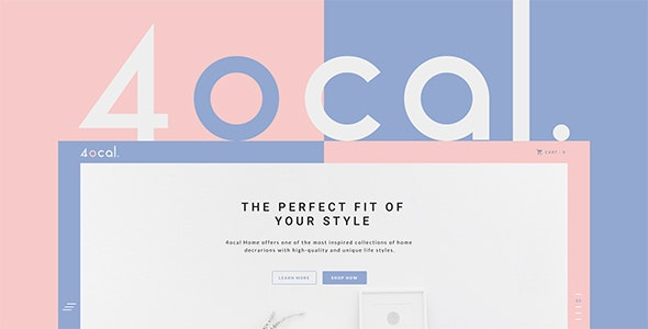 4ocal Web UI Kit for Sketch - Corporate Sketch