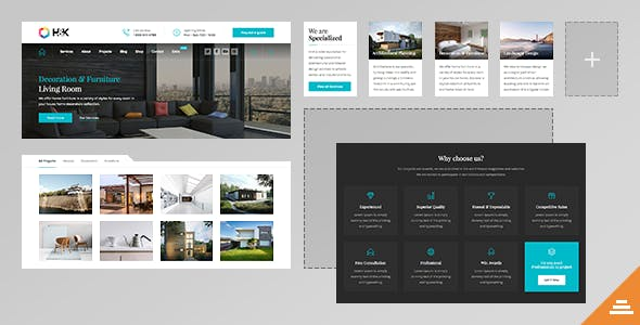 Hnk - Business and Architecture HTML Template