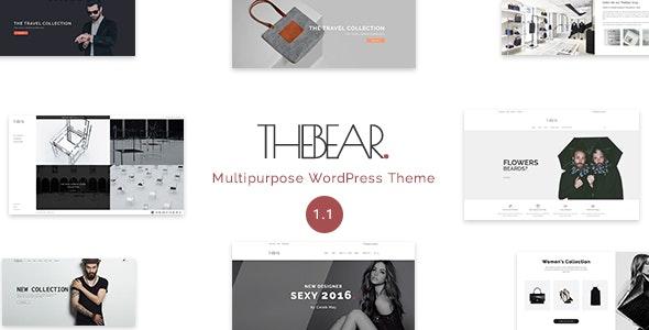 Thebear - Multipurpose Woocommerce Theme - WooCommerce eCommerce