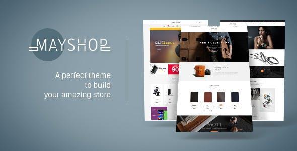 Leo May Shop Prestashop Theme for Multipurpose Business
