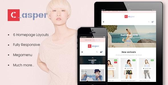 Leo Casper Responsive Prestashop Theme - PrestaShop eCommerce