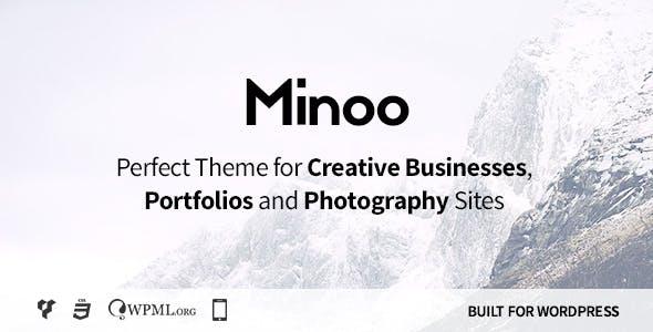 Minoo - WordPress Theme for Creative Businesses, Portfolio and Photographers