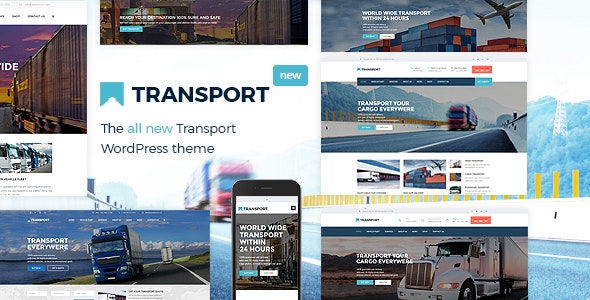 Transport - WP Transportation & Logistic Theme - Business Corporate