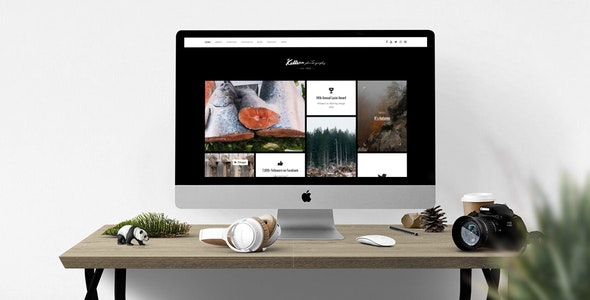 Killeen – A Contemporary Portfolio for Photographers with Shop - Photography Creative