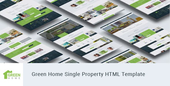 Green Home - Single Property Real Estate HTML Template