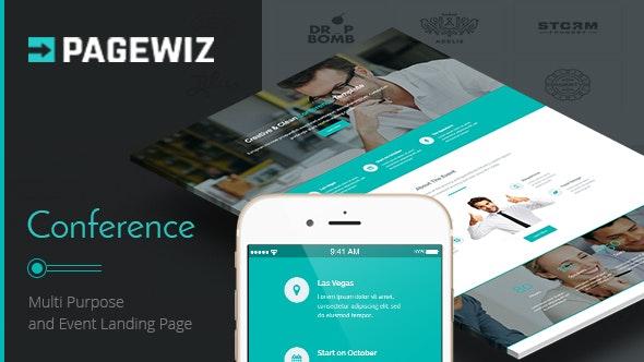 Conference - Pagewiz Landing Page - Pagewiz Marketing