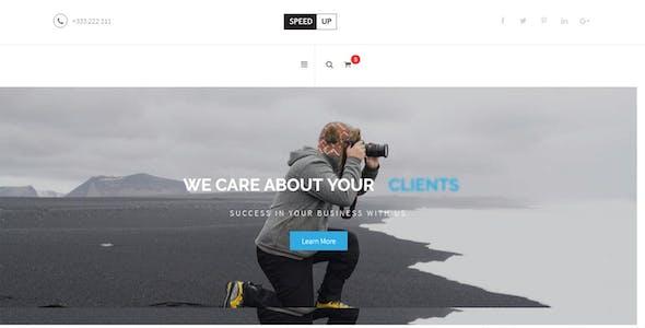 Speedup - Business Corporate and Portfolio Html Template
