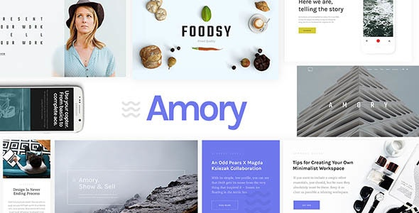 Amory | Responsive Multipurpose WordPress Theme - Technology WordPress