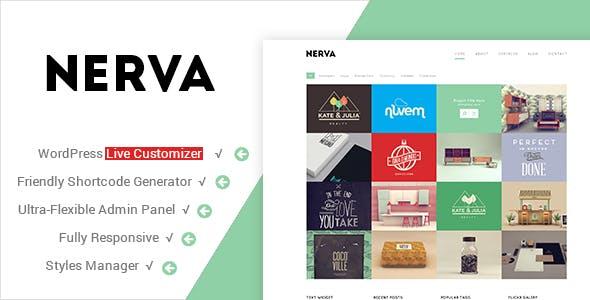 Nerva - Premium Minimal WordPress Theme