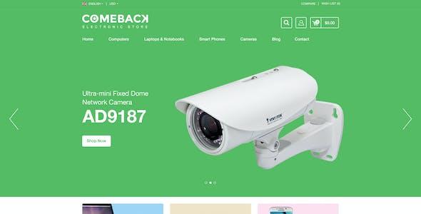 Comeback | eCommerce Multipurpose Responsive Prestashop Theme