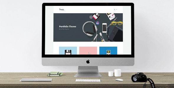 Louisa - WordPress Portfolio Theme - Portfolio Creative