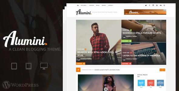 Alumini - WordPress Blogging / Magazine Theme - Blog / Magazine WordPress